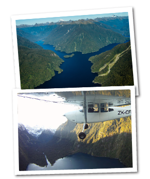 Scenic Flight on milford Sound DAy Tour Te Anau