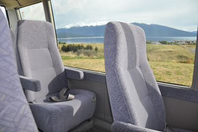 Comfortable, spacious interiors