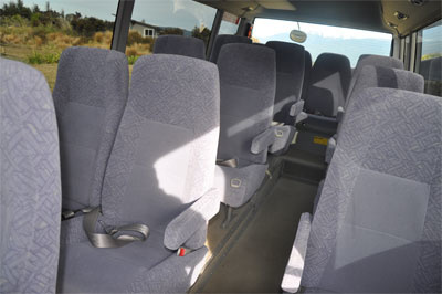 comfortable interior
