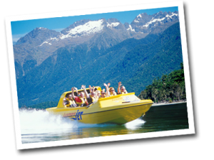 Luxmore Jet Boat and Guided Day Walk of Kepler Track