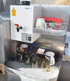 Tea & Coffee making facilities on board